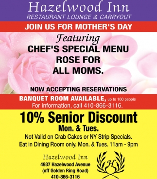 Join Us for Mother's Day