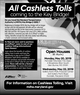All Cashless Tolls