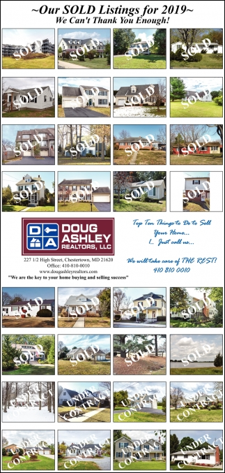 Our Sold Listings for 2019