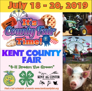 It's County Fair Time
