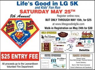 Saturday May 25th