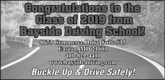 Buvkle Up & Drive Safely!