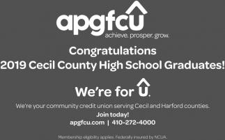 Congratulations 2019 Cecil County High School Graduates!