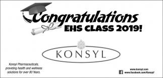 Congratulations EHS Class 2019!