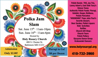 Polka Jam Slam