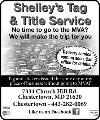 Tag & Title Service