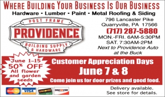 Where Building Your Business Is Our Business