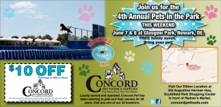 4th Annual Pets in the Park