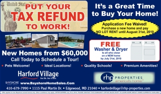 Put Your Tax Refund to Work