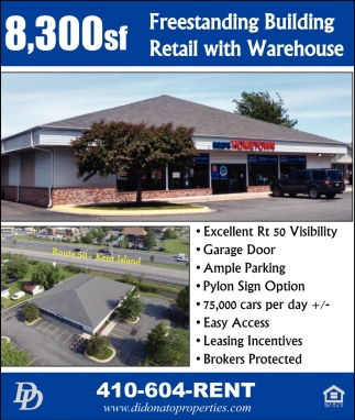 Freestanding Building Retail with Warehouse