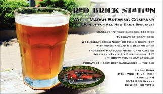 White Marsh Brewing Company