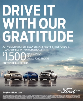 Drive It With Our Gratitude