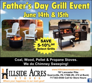 Father's Day Grill Event