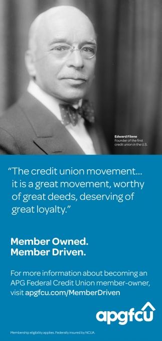 Member Owned. Member Driven.