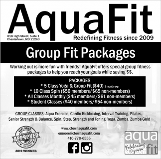 Group Fit Packages