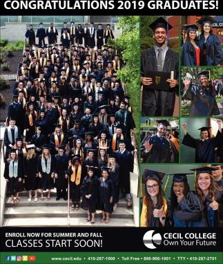 Congratulations 2019 Graduates
