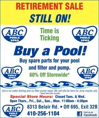 Buy a Pool!