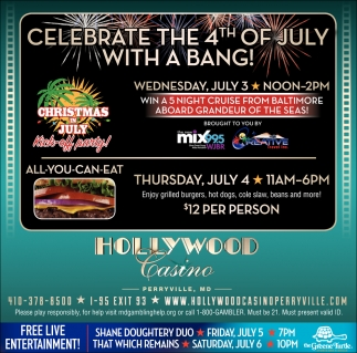 Celebrate the 4th of Jilu with a Bang