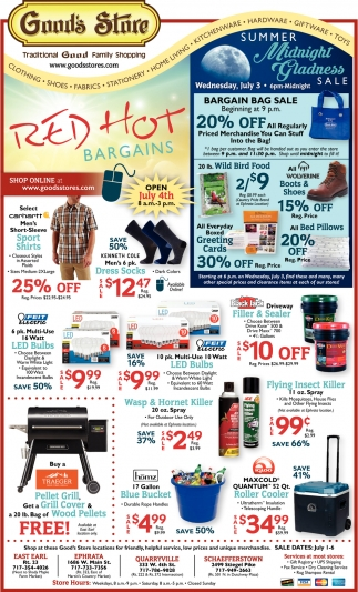 Red Hot Bargains