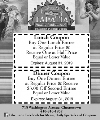 Lunch Coupon