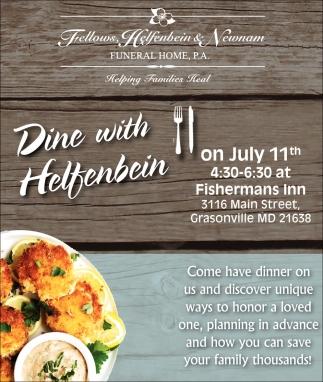 Dine with Helfbein