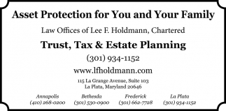 Asset Protection for You and Your Family