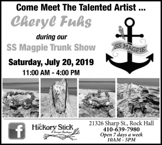 Come Meet the Talented Artist