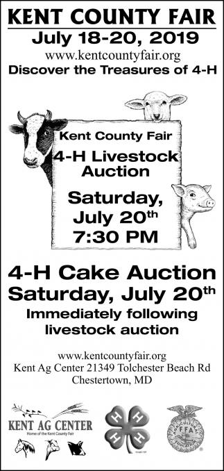 4-H Livestock Auction