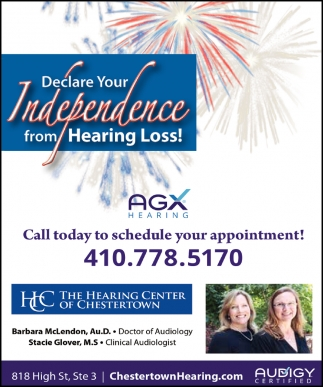 Declare Your Independence from Hearing Loss