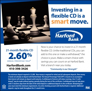 Investing in a Flexible CD is a Smart Move