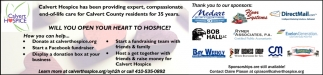 Will you Open your Heart to Hospice