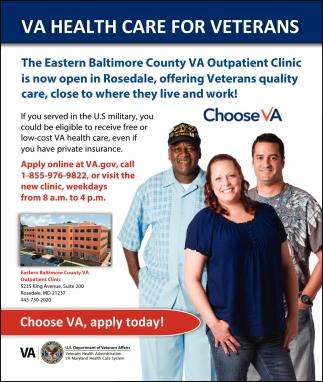 VA Health Care for Veterans
