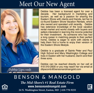 Meet Our New Agent
