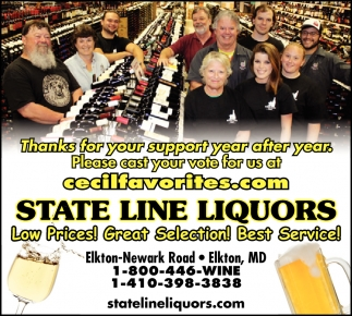 Beer, Wine & Spirits