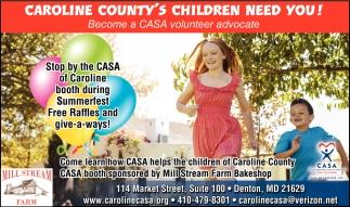 Caroline County Children Need You!