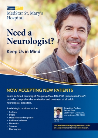 Need a Neurologist?