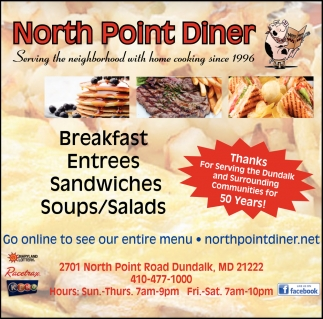 Breakfast Entrees Sandwiches Soups/Salads