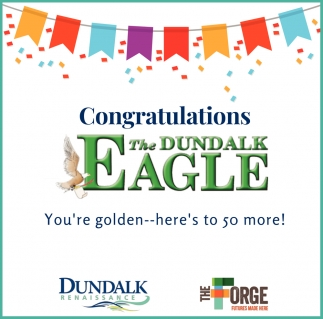 Congratulations to The Dundalk Eagle