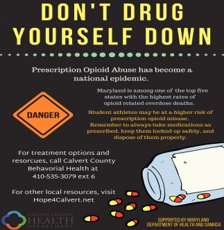 Don't Drug Yourself Down