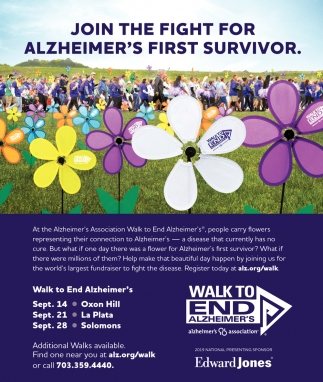 Join the Fight for Alzheimer's First Survivor.