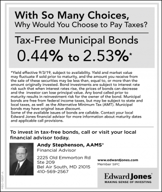 Tax-Free Municipal Bonds