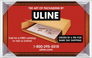 Order By 6 Pm For Same day Shipping, Uline