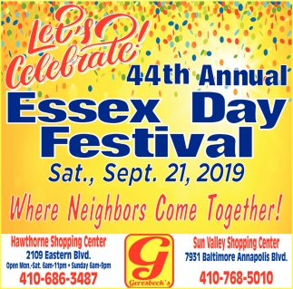 44th Annual Essex Day Festival