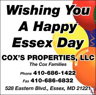 Happy Essex Day