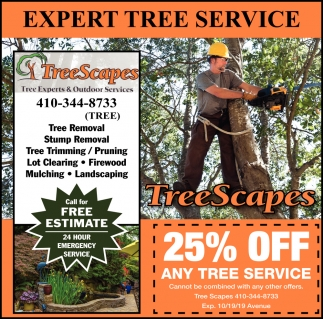 25% OFF Any Tree Service