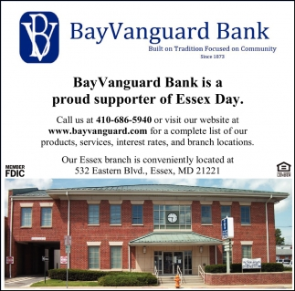 Proud Supporter of Essex Day