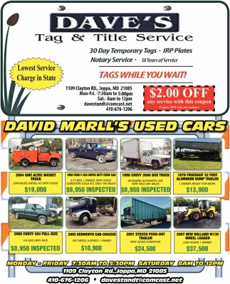 David Marll's Used Cars
