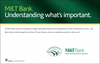 m and t bank customer service