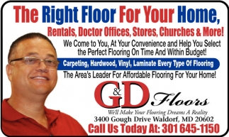 The Right Floor for your Home