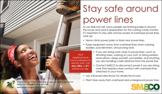 Stay Safe Around Power Lines